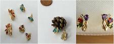 Fashion Luxury Jewellery Earrings  Gold Colour Filled Crystal  Earrings
