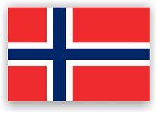 Noruega Bandera pegatinas de pared, noruego Norge Norsk Vinilo Autoadhesiva De 3 Tamaños