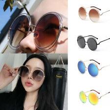 Large Round Sunglasses Oversized Fashion Designer Celebrity Women Sunglasses
