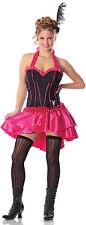 Sexy Adult Halloween Playboy™ Burlesque Cabaret Playmate Saloon Girl Costume