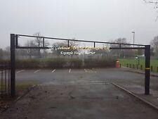 HEIGHT BARRIER - GALVANISED STEEL SECURITY / GATE / CAR PARK inclusive of VAT