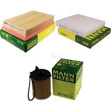 MANN-Filter Inspektions Set Ölfilter Luftfilter Innenraumfilter MOLI-9734634