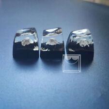 Fuji Mountain Handmade Keycaps Wood Resin Switch Key Caps For Cherry MX Keyboard