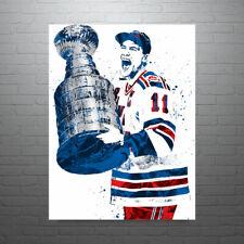 Mark Messier New York Rangers NHL Hockey Poster FREE US SHIPPING