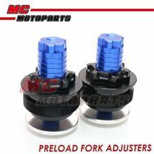 CNC Fork Preload Adjusters For Suzuki SV650 S GSX400 GSF 650 600 400 Bandit