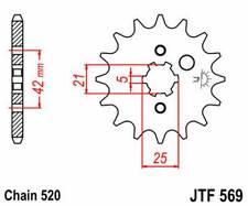 F56917: JT SPROCKETS Piñon JT 569 de acero con 17 dientes