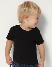 Baby Kleinkind T-Shirt Baumwolle Druckknöpfe 5-24 Monate in 8 Farben NH140B