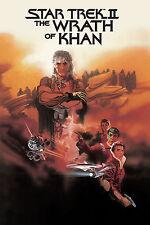 STAR TREK II THE WRATH OF KHAN Movie Poster 1982