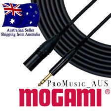 MOGAMI GOLD Studio Pro Cable CHOOSE XLR Male or Female TRS Jack or Socket #2534