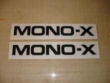 VINTAGE YAMAHA YZ 125/250/490 MONO-X SWINGARM DECALS