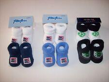 Phat Farm Stride Rite 2pr Crib Shoes Booties Socks Boys 0-6 0-12 Mos New