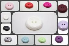 B3-18mm 10pcs Little Mezza Sfera a Forma Di Cupola Pulsanti di plastica Shanked-molti colore
