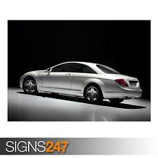 2007 MERCEDES BENZ CL CLASS (AC986) CAR POSTER - Poster Print Art A0 A1 A2 A3