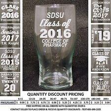 Personalized Graduation 19 oz Glass Graduate Class of 2018 Gift Custom Tumbler