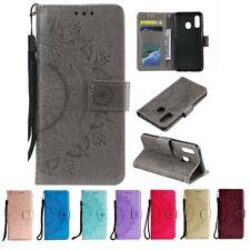 Samsung Galaxy A40 Handy Hülle Schutz Tasche Flip Case Etui Cover Mandala