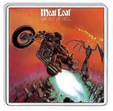 Meat Loaf Album Cover Drink Coaster. 13 Album Options.