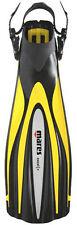 Mares Excel + Plus Open Heel Scuba Diving Dive Fins - Yellow - All Sizes