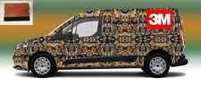 "8 Rolls 58"" x 15 "" Camouflage Vinyl  Decal Truck Tree Print Pickup Truck Camo 3M"
