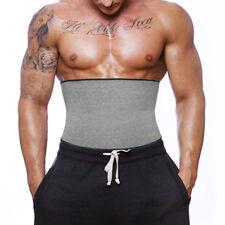 Men Extreme Thermal Body Shaper Slimming Waist Trainer Cincher Power Belt Sweat!