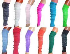 GLITTER SPARKLY LEGWARMERS LUREX LEG WARMER DANCE 70'S 80'S HEN METALLIC 60cm