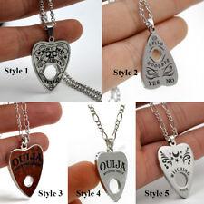 Ouija Board Heart Pendant Necklace 24 Inch Copper Chain Jewelry Love Gift