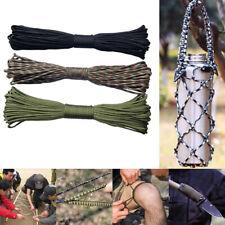 Clothesline Climbing Hiking Lanyard 7 Strand Cord Paracord Parachute Rope
