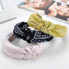 Fashion Bowknot Korea Wide Hairbands Hair Hoop Women Headwear Head Accessories