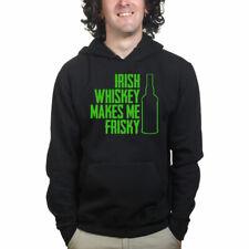 Irish Whisky Whiskey St Patrick's Paddy Leprechaun Shamrock Sweatshirt Hoodie