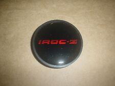 85-87 Iroc Z Z28 Center Cap Emblem Black/Red