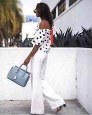 Zara Polka Dot Top With Contrasting Straps Size SMALL & MEDIUM BNWT