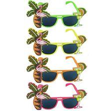 Déguisement hawaïen Flamingo Lunettes de soleil 4 couleurs H