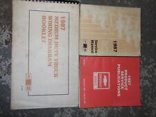 1987 Chevrolet Medium Duty Truck Service Manual Set OEM x