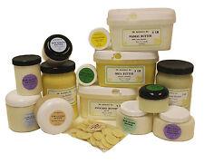 Organic Butters 100% Pure RAW Fresh Natural Premium Skin Care Body Nails