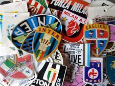 ADESIVI VINTAGE ANNI 60 70 80  CALCIO INTER JUVE MILAN TORINO NAPOLI ITALIA.....