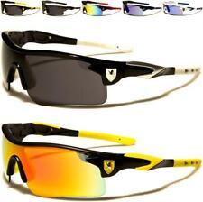 Khan Diseñador Gafas De Sol Para Hombres Damas Envoltura De Deportes Correr Golf Ciclismo Espejada