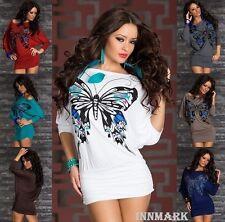 550 Clubbing Mariposa Kimono Manga Larga Vestido túnica Online Store innmark