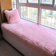 Deluxe Artificial Wool Fluffy Decorative Carpet Floor Mat for Bedroom LivingRoom