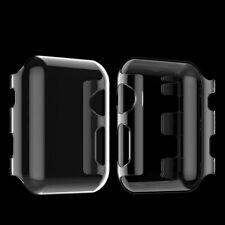 1Stück#Apple Watch 38/42mm Schutzhülle Case Cover Bumper transparent Series1 2 3