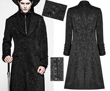 Manteau veste jacquard laçages gothique dandy victorien baroque PunkRave Homme N
