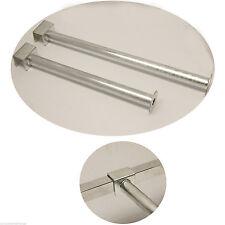 MARKET STALL HEAVY DUTY ZINC DISPLAY HANGER TUBE ARM ROUND END