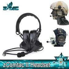 Z-TAC Tactical ZComtac II Headset Pick Up Noise Canceling Hunting communication