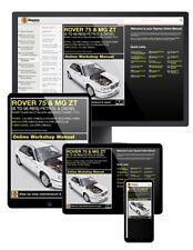 Rover 75/MG ZT ESSENCE & DIESEL (1999-2006) s à 06 Haynes Manuel En Ligne
