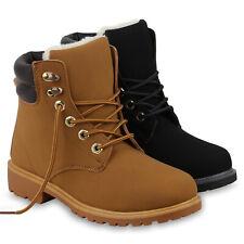 Damen Stiefeletten Outdoor Worker Boots Stiefel 895917 Schuhe