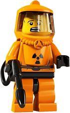 Lego Piezas elegir para materiales peligrosos tipo serie 4 Cabeza Torso piernas Pistola Rociadora Manguera Capucha Traje