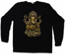 GANESHA VINTAGE LANGARM T-SHIRT Hinduismus Hindu Yoga Buddha Indien Buddhismus