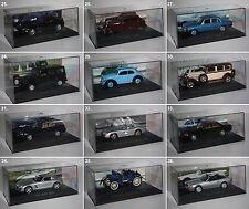 De Agostini-Mercedes de collection - 1:43 - Oldtimer-collection-modèle-pc - vitrine-NEUF