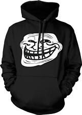 Troll Face Meme Internet Humor Joke Funny Nerd Geek Culture Hoodie Pullover