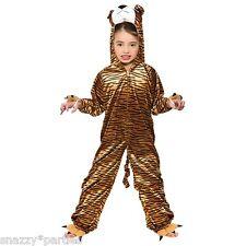 infantil Tigre Zoo Animal Gato Jungla Disfraz Mono Día Del Libro Semana