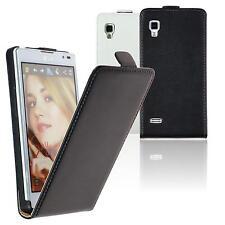 Case for LG Optimus L9 Flipcover Flip-Case  + protective foils