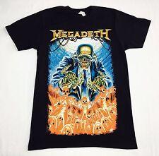 "Megadeath ""Skeleton"" T-shirt Official Adult Mens Black New S,M,L"
